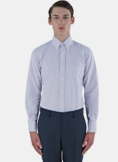 Classic University Striped Oxford Shirt
