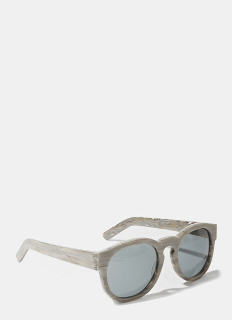 Larke Unisex Gill Smoke Sunglasses