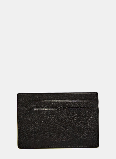 Flat Leather Card Holder