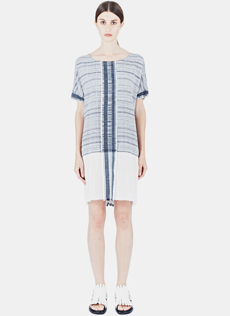 Alison Welsh Indogo Selvedge Dress