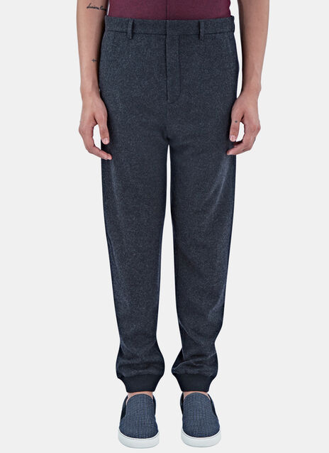 Seamless Wool Track Pants