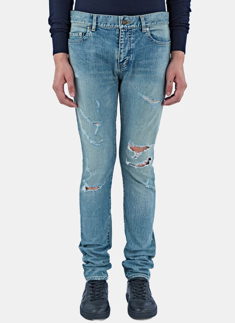 5 Pocket New Trash Jeans