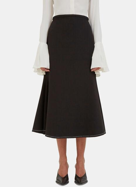 Beedee Long Fluted Skirt