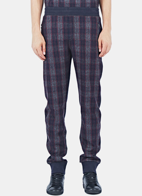 Tartan Felted Wool Pants
