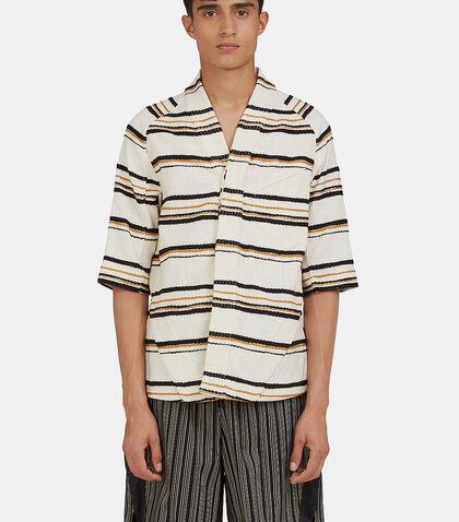Arc Desert Short Sleeved Striped Shirt