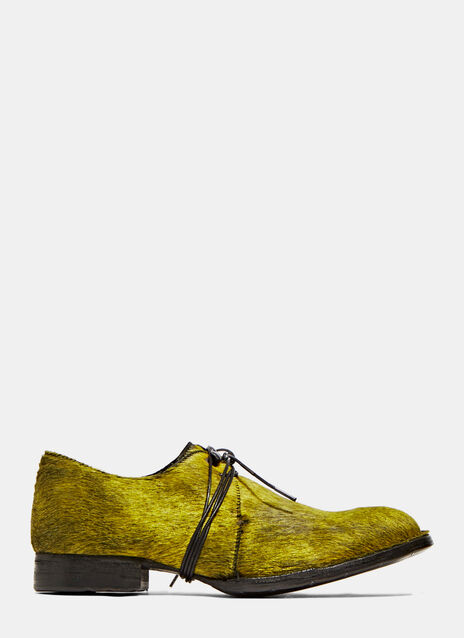 Calf Hair Oxford Shoes