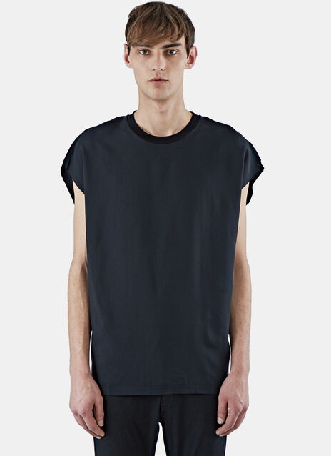 Fluid Raw Edge T-Shirt