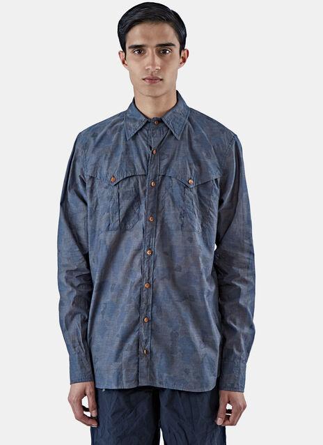 Camo Long Sleeved Shirt