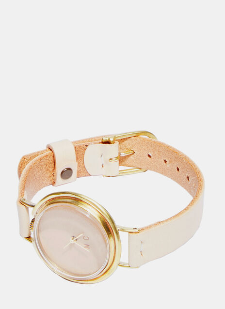 Universe L Leather Watch