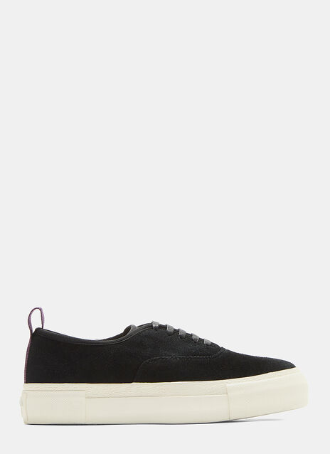 Mother Suede Black Sneaker