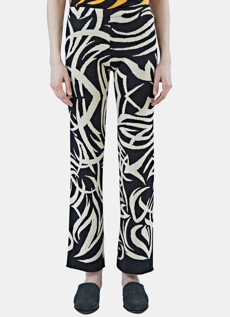 Tribai Straight Leg Knit Pants