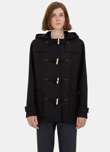 Short Wool Duffle Coat