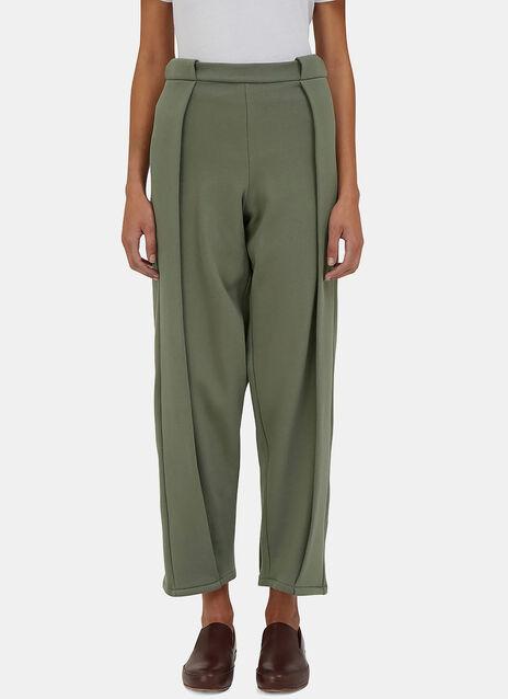 Fold Pleat Track Pants