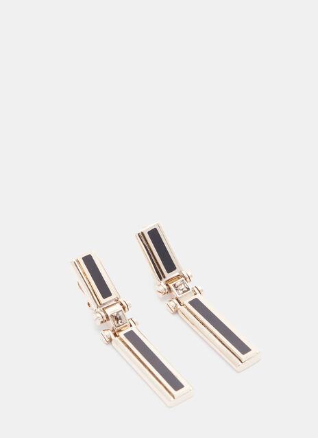 Drop Clip Earrings
