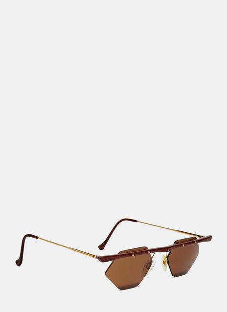90'S Rare Wood Frams Sunglasses