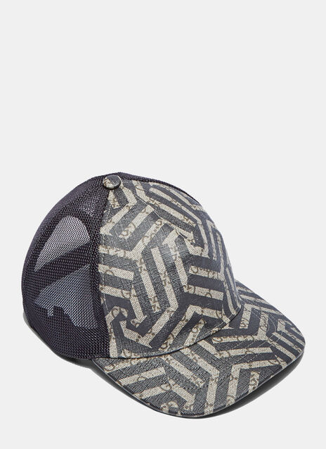 Geometric Print 6 Panel Baseball Cap