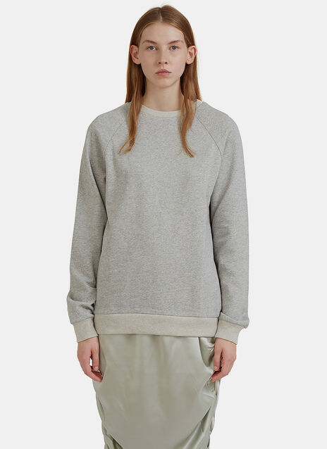 Jounich Round Neck Fleece Sweater