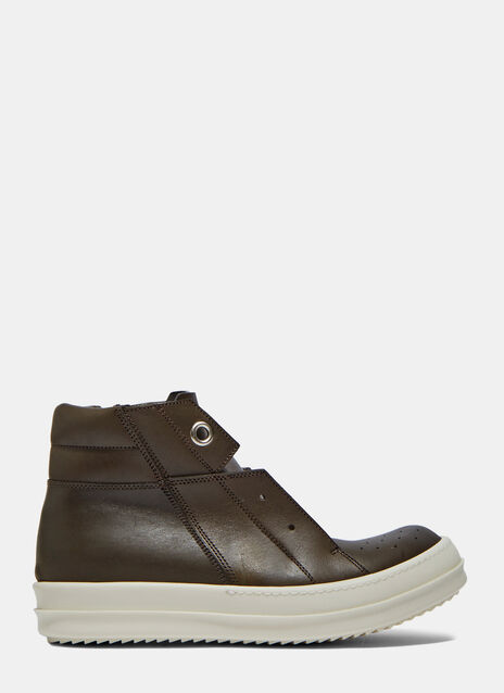 Island Dunk Pull-On Leather Sneaker