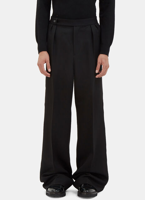 Oversized Serged Seam Wide Leg Pants