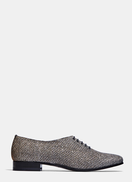 Sparkly Lace-Up Shoes