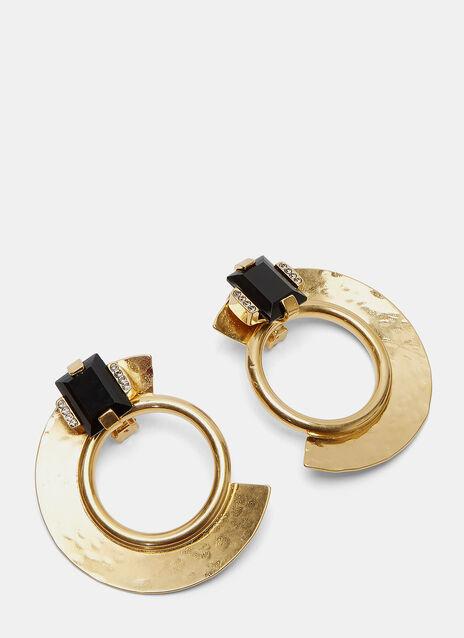 Metal Ring Earrings