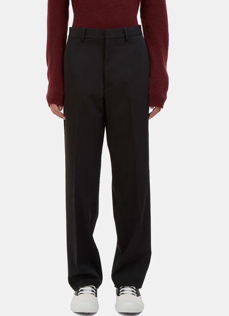 Wide Leg Suiting Pants