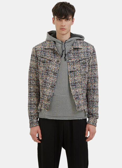 Multicolour Tweed Jacket