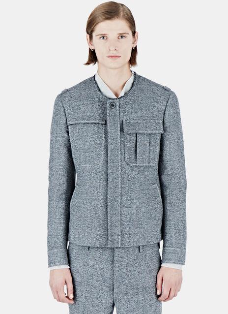 Woven Tweed Jacket