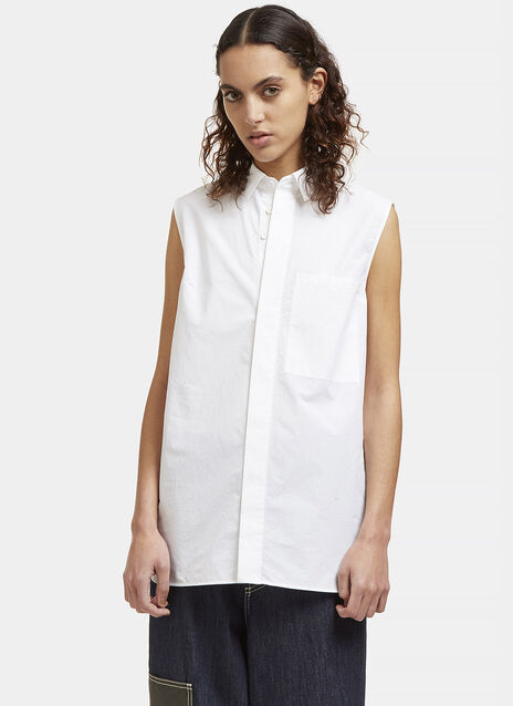 Acne Belevue Soft Sleeveless Shirt