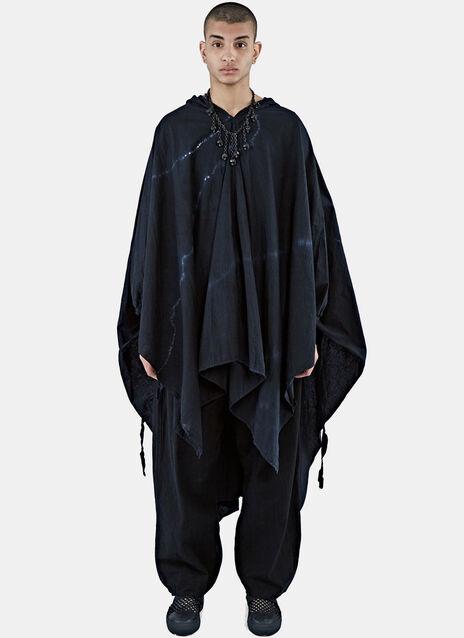HARO-S Shibori-Dyed Snow Camo Coat