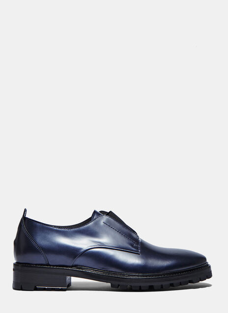 Elasticated Strap Derby Shoes