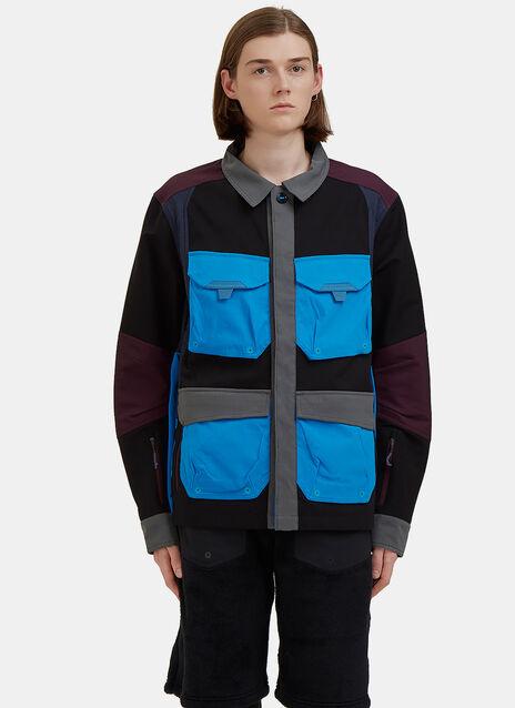 Field Layer Contrast Cargo Pocket Jacket