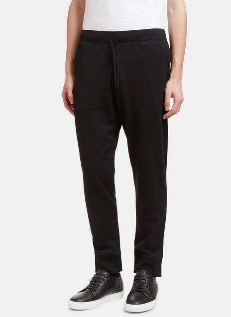 Virgin Wool Blend Jogging Pant