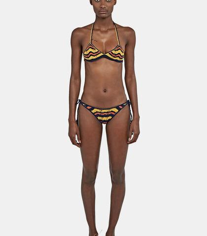 Honey Tie Sides Zigzag Bikini