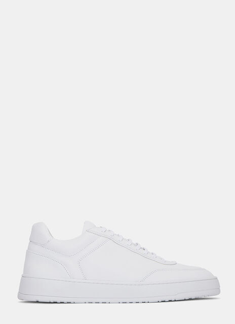 Low 5 Grained Sneakers