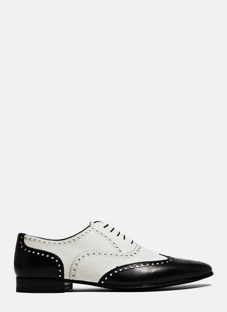 Saint Laurent Richelieus en cuir