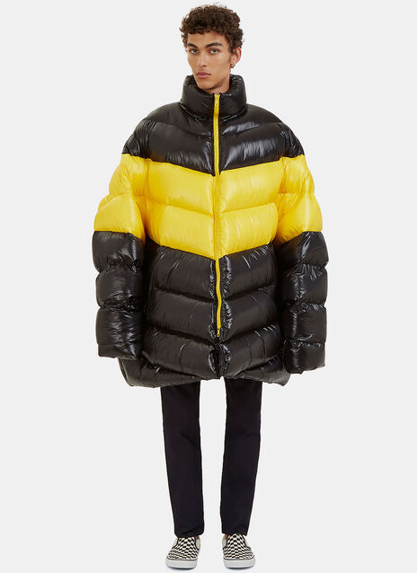 Oversized Down Quilted Jacket