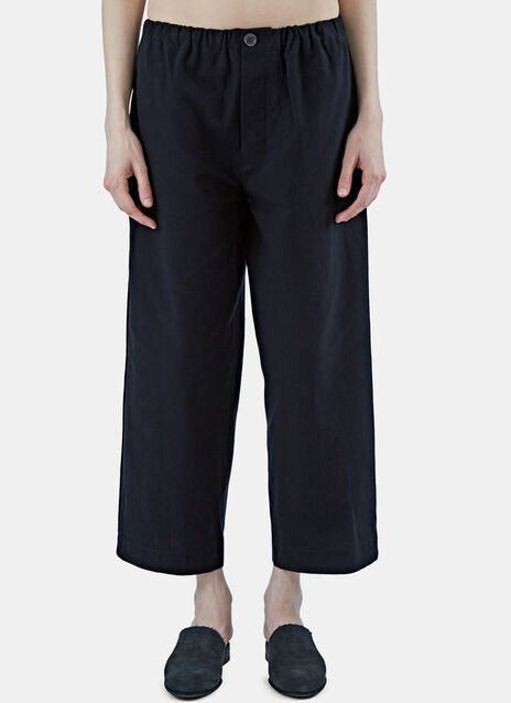 High-Waisted Straight Leg Pants