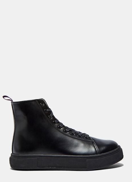 Kibo High-Top Leather Sneakers