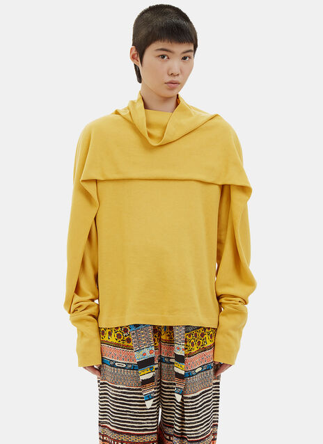 Layered Roll Neck Sweater