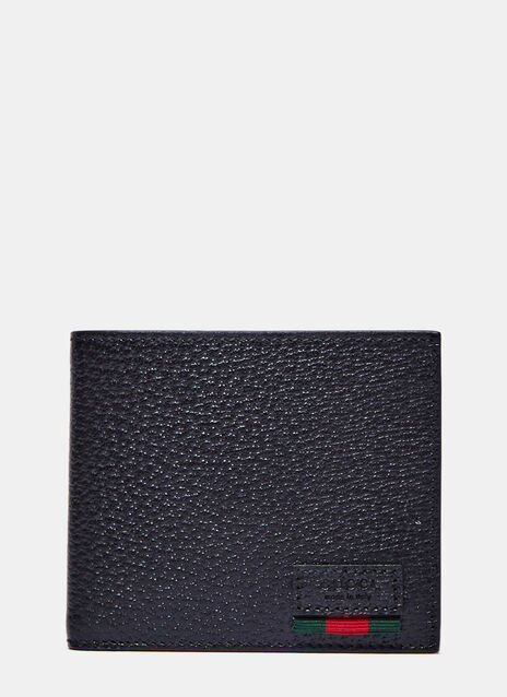 Textured Dollar Ribbon Fold Wallet