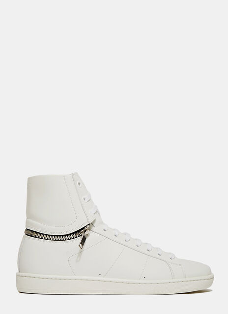 Saint Laurent Zip High Top Sneaker