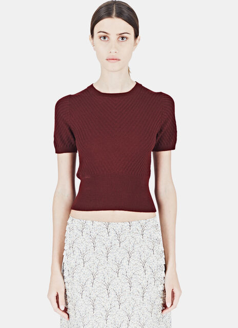 Marni Knitted Crew Neck T-Shirt