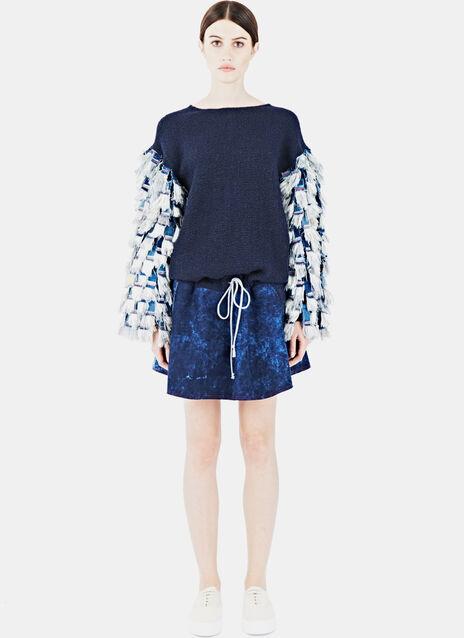 Fringe Woven Dress