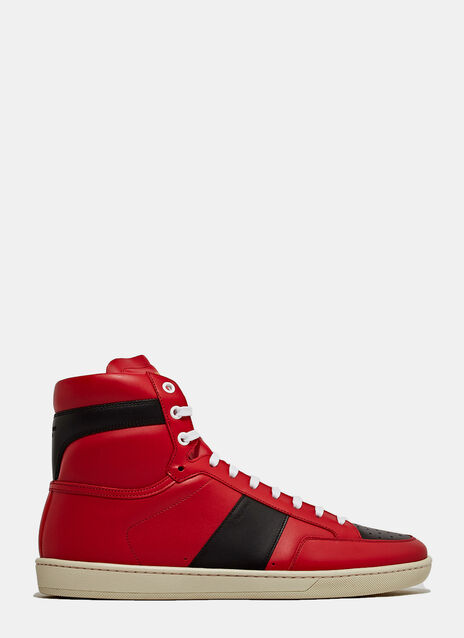 Saint Laurent High Top Sneaker