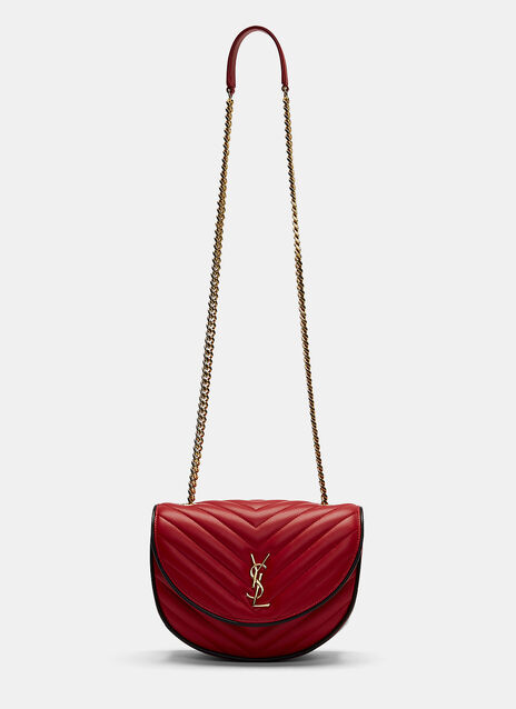 YSL Monogrammed Bubble Quilted Crossbody Bag