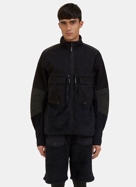 Fleece Layer Cargo Pocket Jacket