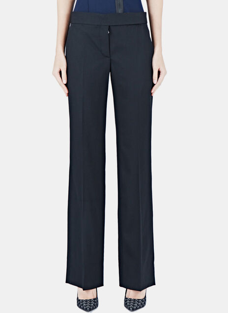 Tailored Straight Leg Pants