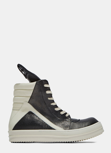 Leather Geobasket Sneakers