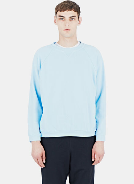 Image of AIEZEN Cotton Crew Neck Sweater